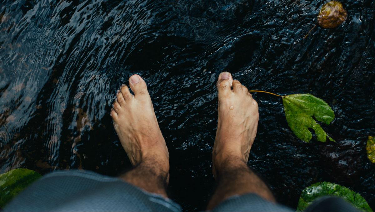 Website voeten water