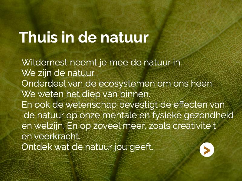 Thuis in de natuur